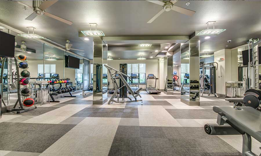 Galleria Apartments | 1900 Yorktown Luxury apartments - Fitness Center