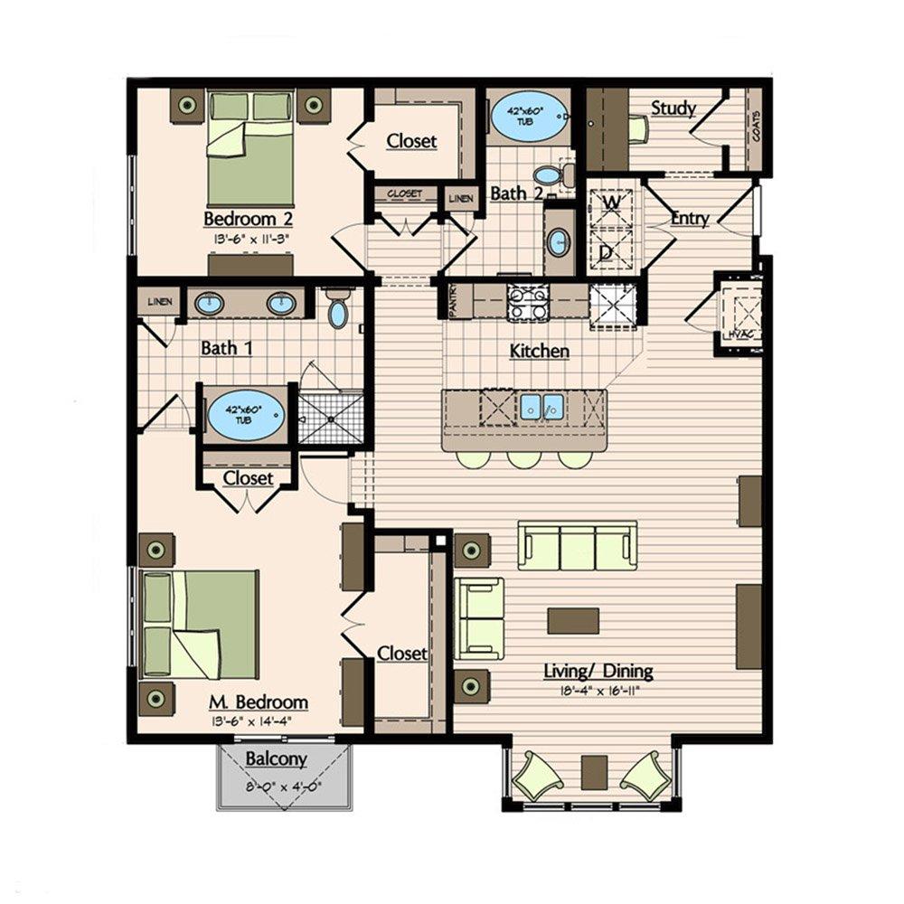 1900 Yorktown Houston Galleria Apartments