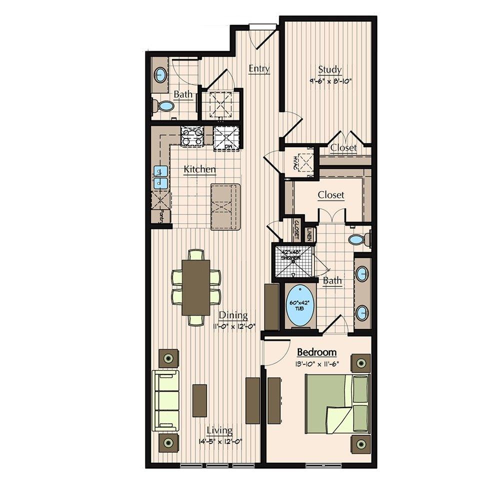 Groovy Floor Plans 1900 Yorktown Houston Galleria Apartments Interior Design Ideas Grebswwsoteloinfo
